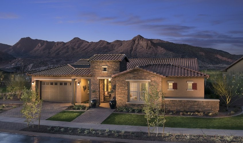 Homes in victory verrado for Verrado home builders