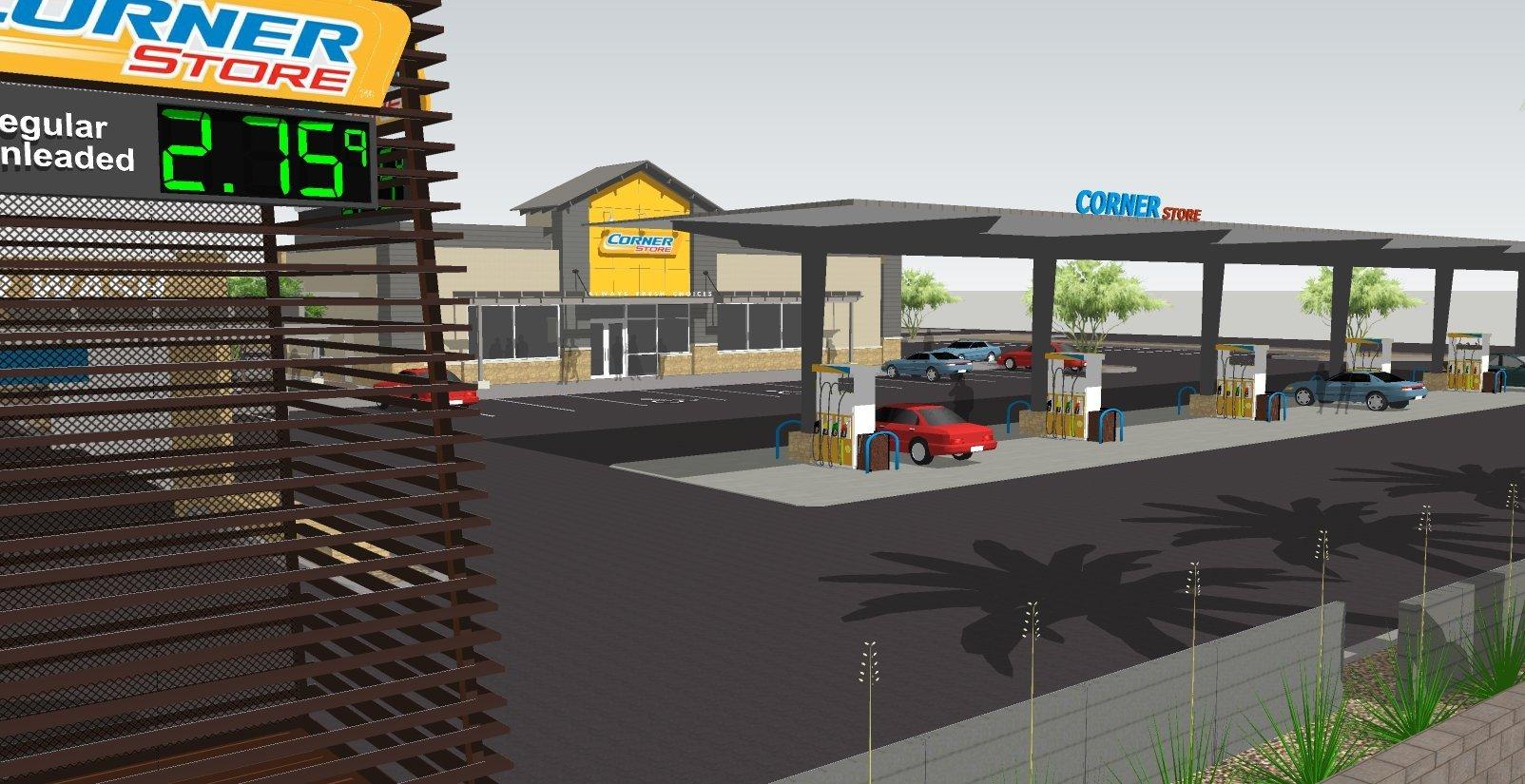 Fuel service convenience store car wash open in verrado for Verrado retirement community
