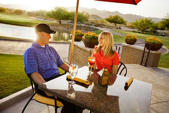 Located In Verrado Golf Course S Beautiful Clubhouse The Grille Combines Wonderful Food With Breathtaking Fairway And Mountain Views For A Truly Memorable